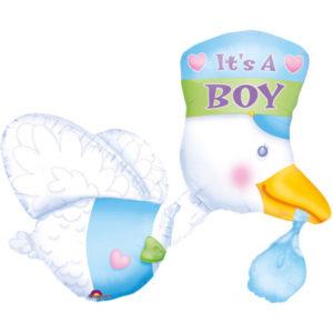 Amscan Fóliový balón Je to kluk
