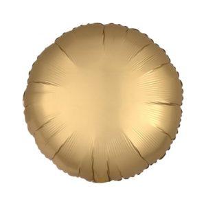 Amscan Fóliový balón Okrouhlý - Zlatý 43 cm
