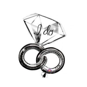 """Amscan Fóliový balonek prsteny """"I do"""""""
