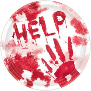 Amscan Krvavé talíře - HELP