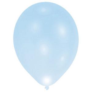 Amscan LED balónek modrý 5 ks