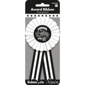 Amscan Narozeninová stuha - černobílá