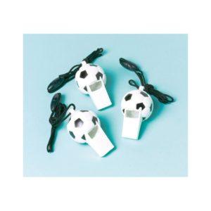 Amscan Píšťalky - fotbalové mistrovství 12 ks