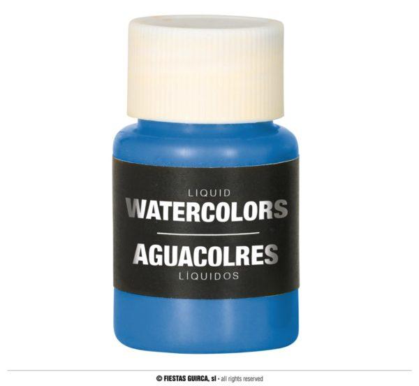 Barva na báze vody 28 ml Barva: Modrá