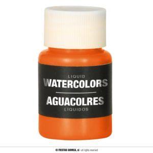 Barva na báze vody 28 ml Barva: Oranžová