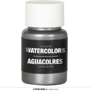 Barva na báze vody 28 ml Barva: Stříbrná