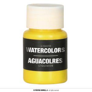 Barva na báze vody 28 ml Barva: Žlutá