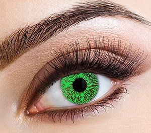 Eyecasions Čočky Green Tint