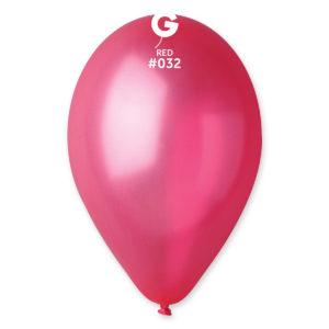 Gemar Balónek metalický červený 26 cm