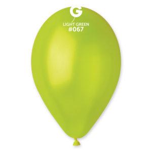 Gemar Balónek metalický zelený 26 cm