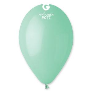 Gemar Balónek pastelový mint zelená 26 cm