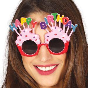 Guirca Brýle narozeninové - růžové