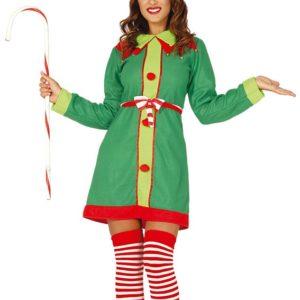 Guirca Dámský Kostým - Vánoční Elfka Velikost - dospělý: L