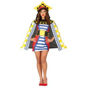 Guirca Dámsky kostým Královna - Game of cards Velikost - dospělý: L
