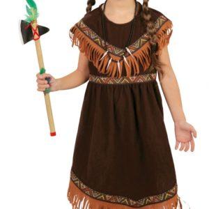 Guirca Dětský kostým Indiánka Velikost - děti: M