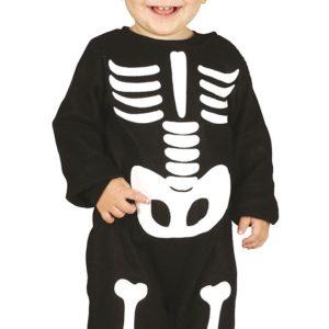 Guirca Dětský kostým Kostlivec Velikost nejmenší: 6 - 12 měsíců