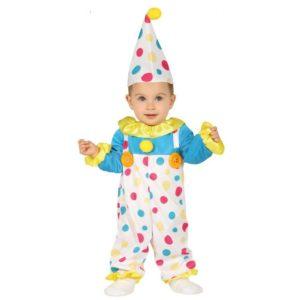 Guirca Dětský kostým - Malej klaun Velikost nejmenší: 6 - 12 měsíců