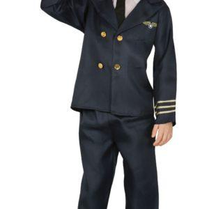 Guirca Dětský kostým Pilot Velikost - děti: M