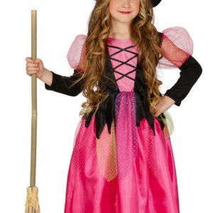 Guirca Dětský kostým Růžová víla Velikost - děti: M