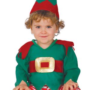 Guirca Dětský kostým  Vánoční skřítek Velikost nejmenší: 6 - 12 měsíců