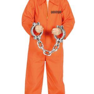 Guirca Dětský kostým Vězeň Velikost - děti: XL