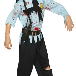 Guirca Dětský kostým Zombie Policista Velikost - děti: XL