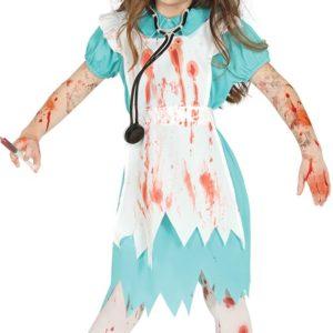 Guirca Dětský kostým Zombie zdravotní sestra Velikost - děti: M