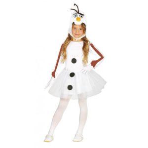 Guirca Dětský kostým sněhulák Olaf - dívčí Velikost - děti: L