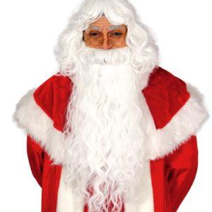 Guirca Dlouhá paruka a brada - Santa Claus