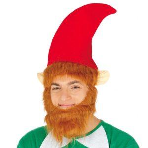 Guirca Elfská čepice s knírem