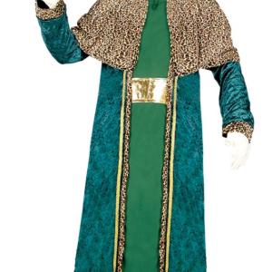 Guirca Kostým Král Baltazar- zelený Velikost - dospělý: L