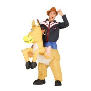 Guirca Kostým Nafukovací cowboy Velikost - dospělý: L