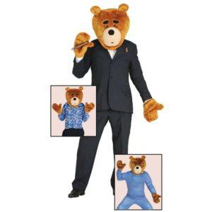 Guirca Kostým Plyšový medvídek Velikost - dospělý: L