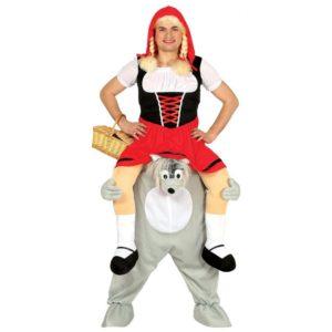 Guirca Kostým Vlk a rudá Karkulka Velikost - dospělý: L