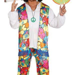 Guirca Pánsky kostým Hippies Velikost - dospělý: L