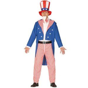 Guirca Pánsky kostým - Uncle Sam Velikost - dospělý: L