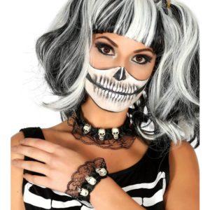 Guirca Sada - náhrdelník a náramek s lebkama