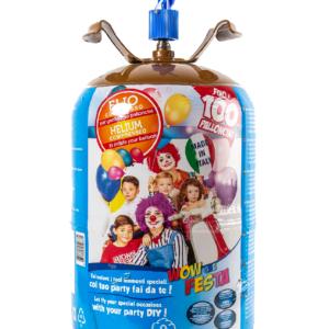 HeliumKing Helium na 100 balónků + balónky