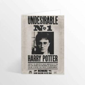 Minalima Pohyblivá pohlednice Harry Potter - Ministry undesirable No.1