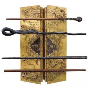 Noble Dekorace Pobertův plánek a sada hůlek - Harry Potter