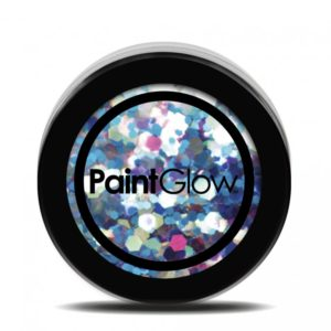 PGW Holographic Barva na obličej - různé barvy Barva: Modrá