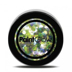 PGW Holographic Barva na obličej - různé barvy Barva: Zelená