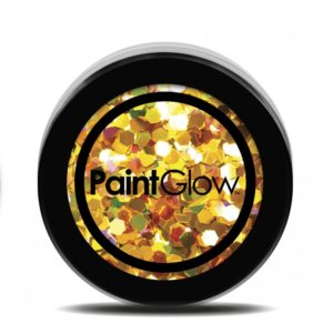 PGW Holographic Barva na obličej - různé barvy Barva: Žlutá