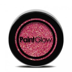 PGW UV Glitter Barva na obličej - různé barvy Barva: Červená