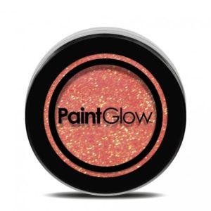 PGW UV Glitter Barva na obličej - různé barvy Barva: Oranžová