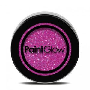 PGW UV Glitter Barva na obličej - různé barvy Barva: Růžová