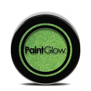 PGW UV Glitter Barva na obličej - různé barvy Barva: Zelená