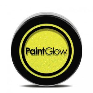 PGW UV Glitter Barva na obličej - různé barvy Barva: Žlutá
