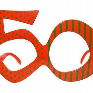 PartyDeco Brýle s číslem 50