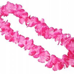 PartyDeco Havajský věnec růžový